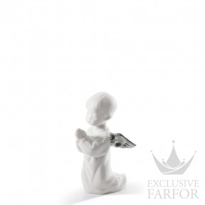 "01007050 Lladro Christmas Статуэтка ""Ангел молится (Re-Deco)"" 13 x 8см"