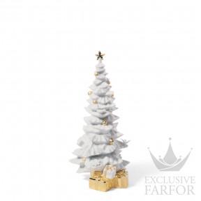 "01007089 Lladro Christmas Статуэтка ""O, Рождественская елка! (Re-Deco)"" 26 x 11см"