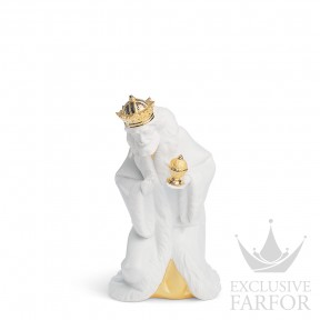 "01007143 Lladro Christmas Статуэтка ""Король Мельхиор (Re-Deco)"" 23 x 16см"