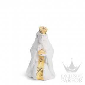 "01007144 Lladro Christmas Статуэтка ""Король Гаспар (Re-Deco)"" 23 x 14см"