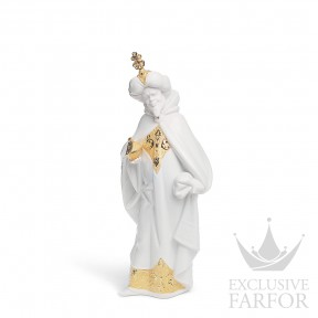 "01007145 Lladro Christmas Статуэтка ""Король Балтазар (Re-Deco)"" 32 x 14см"
