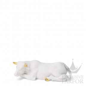 """01007146 Lladro Christmas Статуэтка """"Вол"""" (Re-Deco) 7 x 22см"""