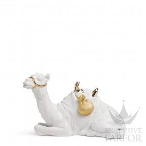 "01007148 Lladro Christmas Статуэтка ""Верблюд (Re-Deco)"" 15 x 22см"