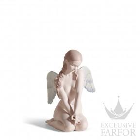 "01018235 Lladro Christmas Статуэтка ""Красивый ангел"" 20 x 14см"