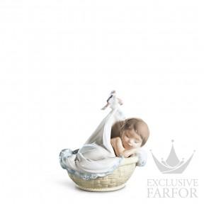 "01006656 Lladro Family Stories ""Birth"" Статуэтка ""Нежные мечты"" 13 x 14см"