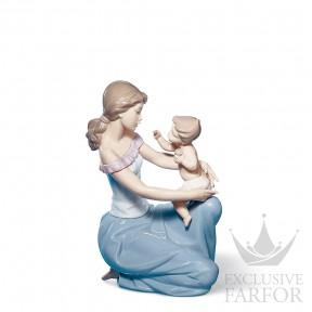 """01006705 Lladro Family Stories """"Motherhoods"""" Статуэтка """"Одна тебе, одна мне"""" 27 x 18см"""