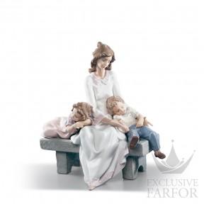 "01006765 Lladro Family Stories ""Motherhoods"" Статуэтка ""Послеобеденный сон"" 29 x 30см"