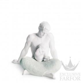 """01008407 Lladro Family Stories Статуэтка """"Отец"""" 22 x 27см"""