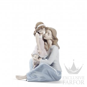 "01008623 Lladro Family Stories ""Motherhoods"" Статуэтка ""Мамина малышка"" 27 x 22см"