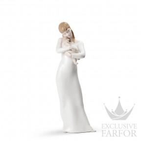 """01008714 Lladro Family Stories """"Motherhoods"""" Статуэтка """"Спокойной ночи, мой ангел"""" 35 x 9см"""