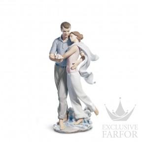 "01006842 Lladro Love stories ""Romances"" Статуэтка ""Ты для меня все"" 36 x 16см"