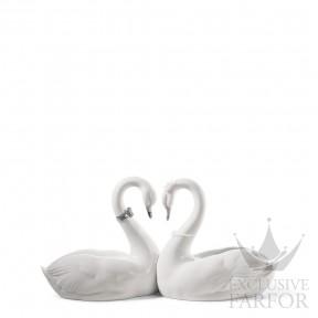 """01007049 Lladro Love stories Статуэтка """"Бесконечная любовь (Re-Deco)"""" 13 x 27см"""
