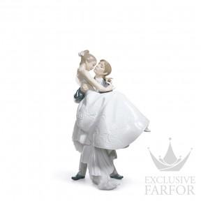 """01008029 Lladro Love stories """"Weddings"""" Статуэтка """"Самый счастливый день"""" 27 x 17см"""