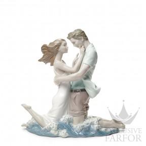 "01008473 Lladro Love stories ""Romances"" Статуэтка ""Волнение любви"" 31 x 33см"