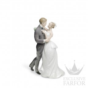 "01008509 Lladro Love stories ""Weddings"" Статуэтка ""Вальс влюблённых"" 30 x 21см"