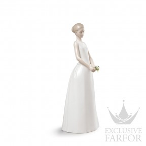 "01009262 Lladro Love stories ""Weddings"" Статуэтка ""Блистательная невеста"" 35 x 15см"