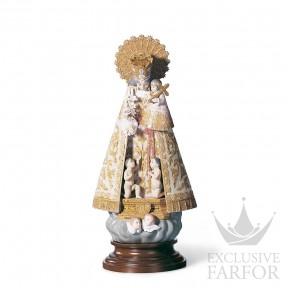 "01001394 Lladro Spirituality ""Christianity"" Статуэтка ""Пресвятая Дева Мария"" 40 x 18см"