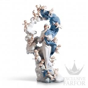 "01001799 Lladro Spirituality ""Christianity"" Статуэтка ""Непорочная Дева"" 54 x 26см"
