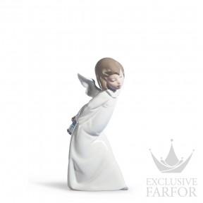 "01004960 Lladro Spirituality ""Angels"" Статуэтка ""Любопытный ангел"" 24 x 12см"