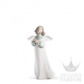 "01006788 Lladro Spirituality ""Angels"" Статуэтка ""Желание ангела"" 23 x 12см"