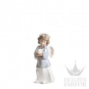 "01006856 Lladro Spirituality ""Angels"" Статуэтка ""Небесная любовь"" 18 x 8см"