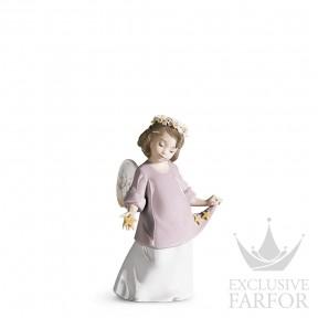 "01006924 Lladro Spirituality ""Angels"" Статуэтка ""Небесные звезды"" 19 x 12см"