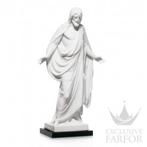 "01007584 Lladro Spirituality ""Christianity"" Статуэтка ""Христос"" 51 x 29см"