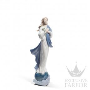 "01008642 Lladro Spirituality ""Christianity"" Статуэтка ""Пресвятая Дева Мария"" 31 x 10см"