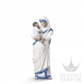 "01009247 Lladro Spirituality ""Christianity"" Статуэтка ""Мать Тереза из Калькутты"" 31 x 10см"