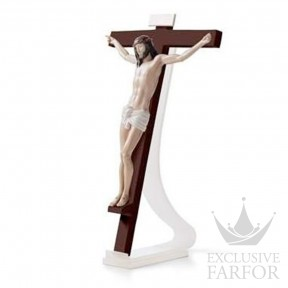 "01098059 Lladro Spirituality ""Christianity"" Подставка для настенной статуэтки ""Наш Спаситель"" 46 x 2см"