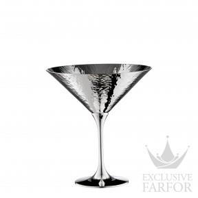 "06301597 Robbe & Berking Bar-Kollektion ""90г. посеребрение"" Бокал для мартини ""Martele"" 12,8см"