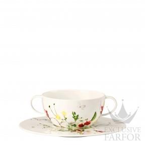 10530-405101-10420 Rosenthal Brillance Fleurs Sauvages Чаша суповая с блюдцем 0,37л