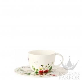 10530-405101-14715 Rosenthal Brillance Fleurs Sauvages Чашка эспрессо с блюдцем  0,08л