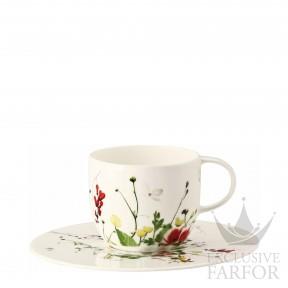 10530-405101-14740 Rosenthal Brillance Fleurs Sauvages Чашка кофейная с блюдцем 0,20л