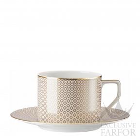 10460-404308-14770 Rosenthal Francis Carreau Beige Чашка с блюдцем 0,32л