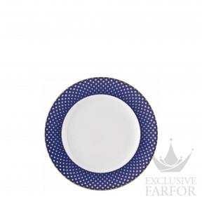 10460-404307-10218 Rosenthal Francis Carreau Bleu Тарелка десертная 18см