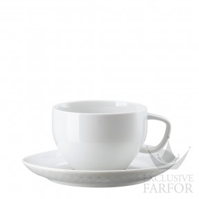 10540-800001-14850 Rosenthal Junto Чашка Café au лait с блюдцем 0,40л