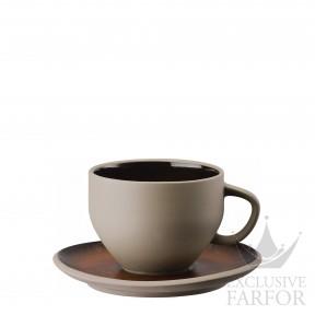21540-405252-64770 Rosenthal Junto Bronze Чашка с блюдцем 0,33л