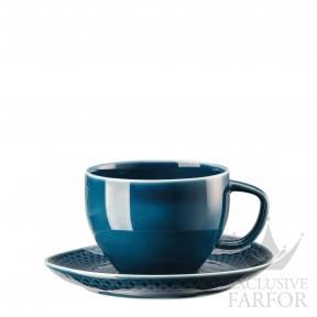10540-405202-14770 Rosenthal Junto Ocean Blue Чашка с блюдцем 0,28л