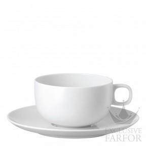 19600-800001-14640 Rosenthal Moon Чашка чайная с блюдцем 0,27л