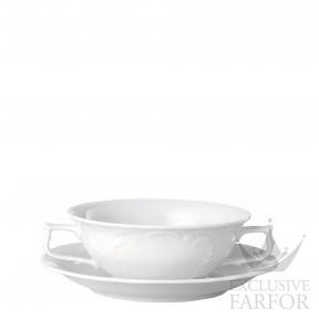 10480-800001-10420 Rosenthal Sanssouci Чаша суповая с блюдцем 0,31л