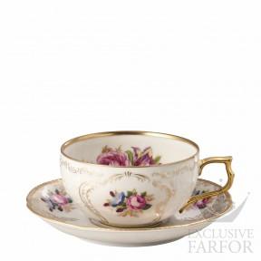 20480-308550-14640 Rosenthal Sanssouci Elfenbein Diplomat Чашка чайная с блюдцем 0,23л