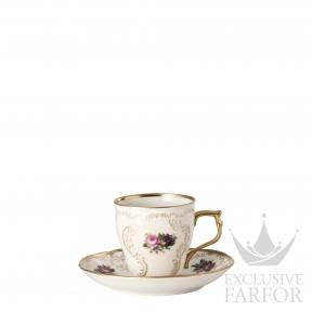 20480-308550-14720 Rosenthal Sanssouci Elfenbein Diplomat Чашка эспрессо с блюдцем 0,09л