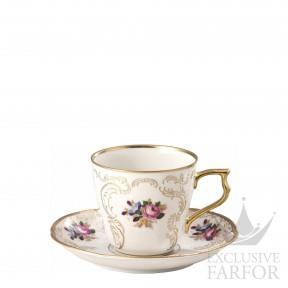 20480-308550-14740 Rosenthal Sanssouci Elfenbein Diplomat Чашка кофейная с блюдцем 0,21л