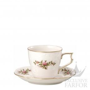 20480-508563-14740 Rosenthal Sanssouci Elfenbein Ramona Чашка кофейная с блюдцем 0,21л