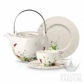 10530-405101-2 Rosenthal Brillance Fleurs Sauvages Чайный сервиз на 6 персон, 21 предмет