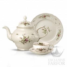 20480-508563-2 Rosenthal Sanssouci Elfenbein Ramona Чайный сервиз на 6 персон, 21 предмет