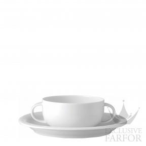17000-800001-10420 Rosenthal Suomi Чаша суповая с блюдцем 0,30л