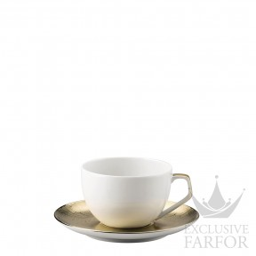 11280-403255-14715 Rosenthal TAC Skin Gold Чашка эспрессо с блюдцем 0,12л
