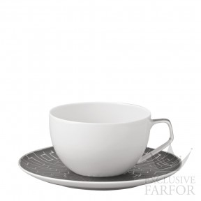 11280-403239-14770 Rosenthal TAC Skin Platin Чашка с блюдцем 0,30л